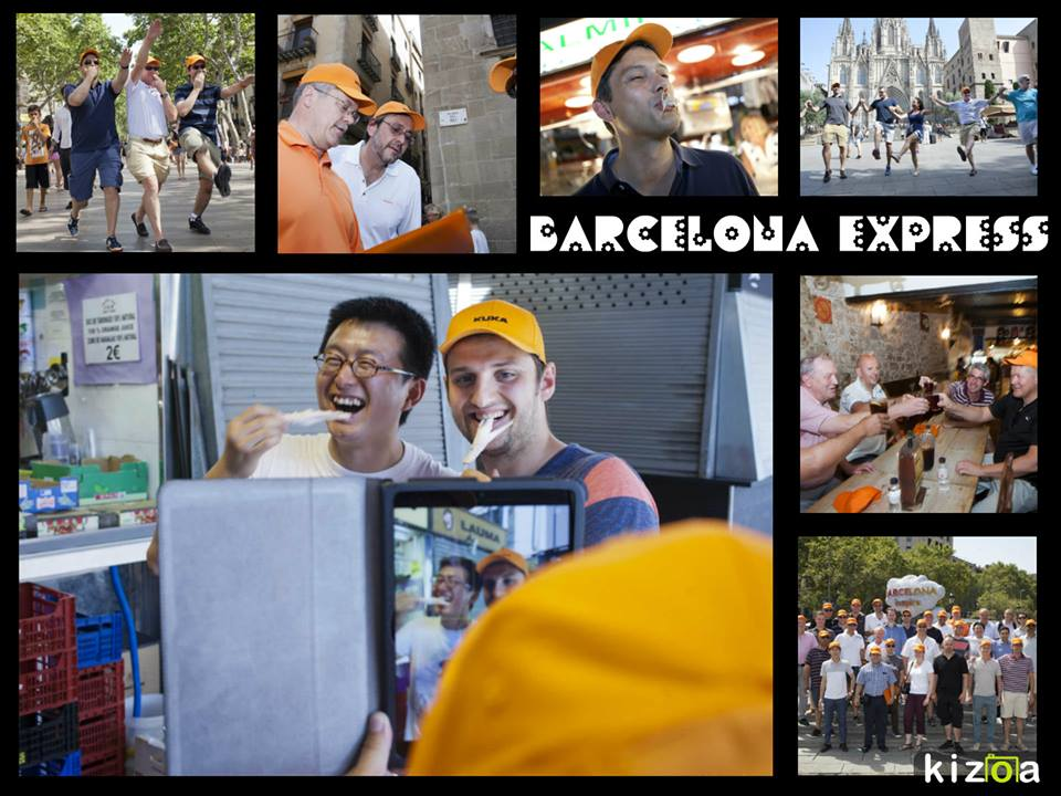 TEAM BUILDING: Barcelona Express urban rally
