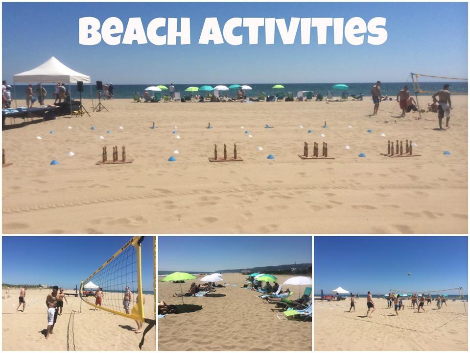 TEAM BUILDING: Beach activities 100pax Gava