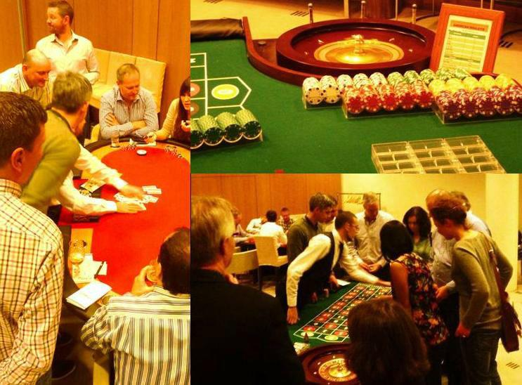 TEAM BUILDING: Clandestine Casino