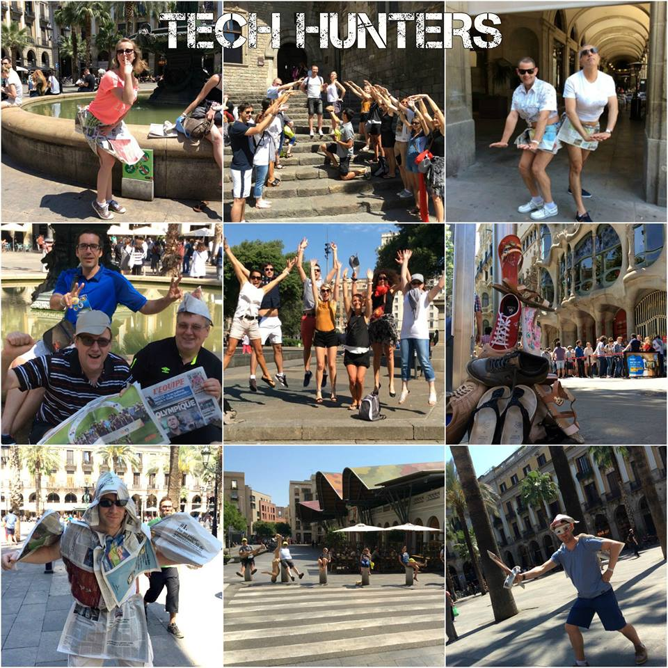 TEAM BUILDING: Tech Hunters 140pax Urban Gymkhana