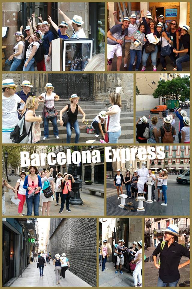 TEAM BUILDING: Barcelona Express