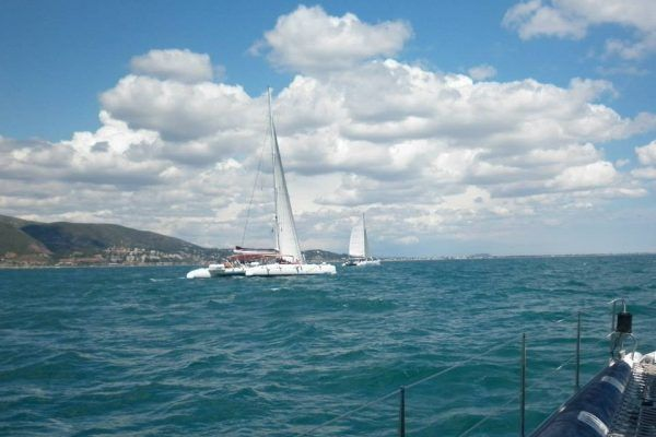 0.Post Teambuilding Barcelona Incentive trip catamaran cruise
