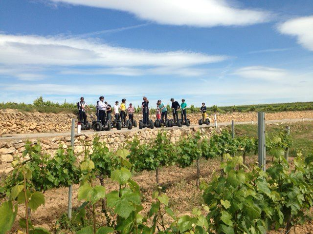 TEAM BUILDING: VINEYARDS SEGWAYS EXPERIENCE