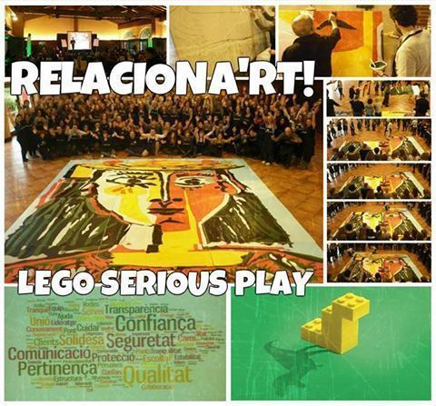 OUTDOOR TRAINING: Art experience + Lego Serious play
