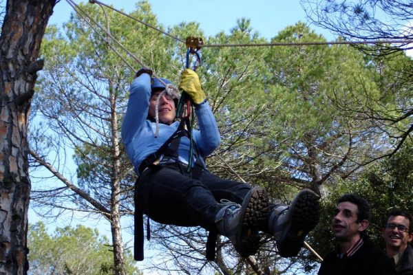 Amfivia Zipline Workshop Adventure Teambuilding Barcelona_opt