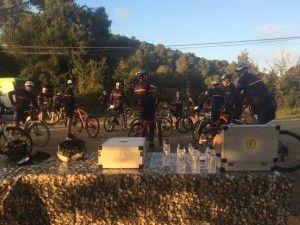 TEAM BUILDING: Mountain bike excursion