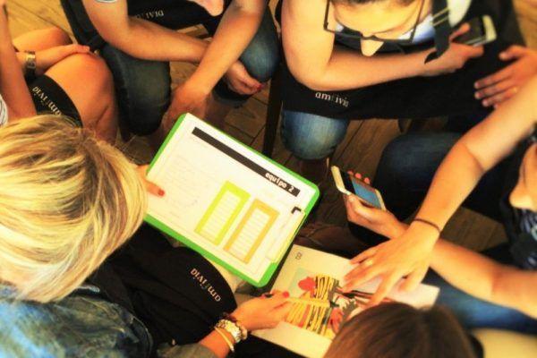 Amfivia teambuilding art 3