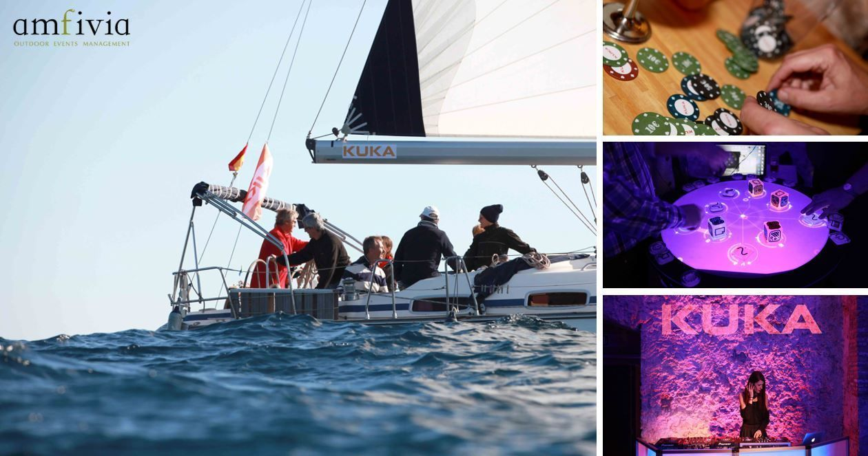 TEAM BUILDING: REGATTA & WINE CASINO PARTY