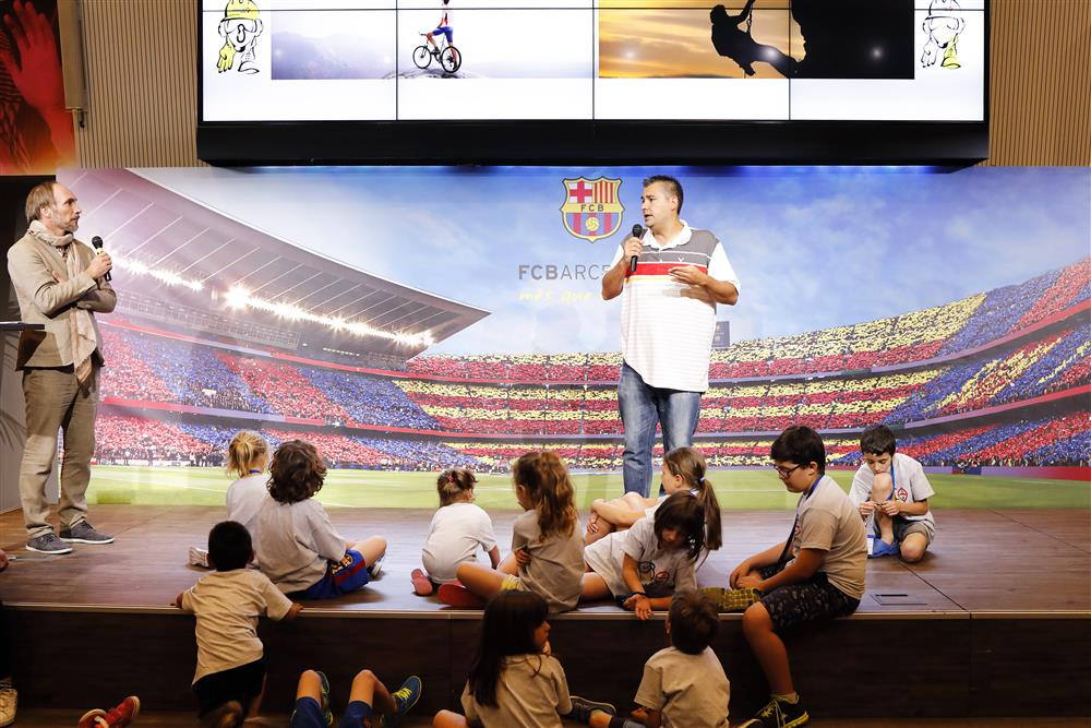 SPECIAL EVENT: FAMILY DAY AT FCB STADIUM