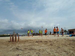TEAM BUILDING: BEACH ACTIVITIES