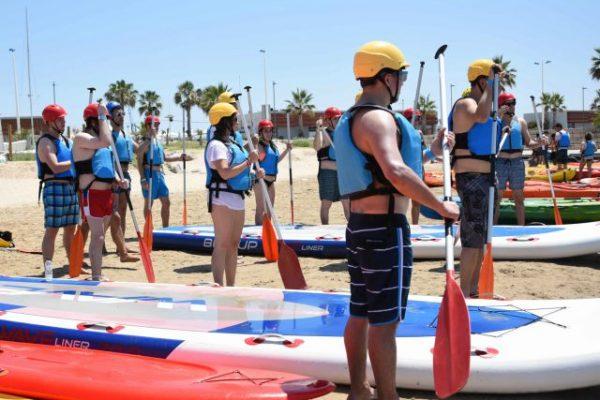 Beach activities_amfivia_teambuilding_volley_outdoor_event_barcelona 7