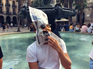DISCOVERING BARCELONA IN AN INTERACTIVE WAY