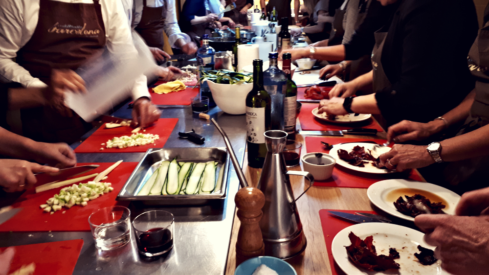 War of Stoves: a delicious customized team building event