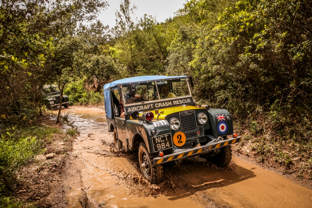 Team Amfivia Series: Nick and his Land Rover passion