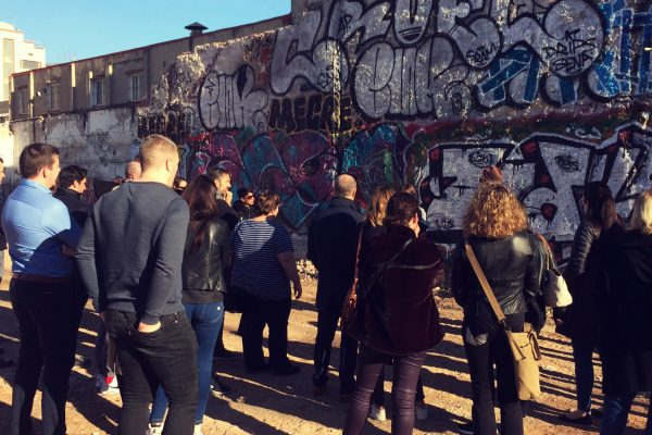 Graffiti workshop Amfivia Barcelona (1)