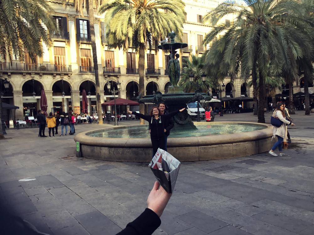 URBAN GYMKHANA IN BARCELONA: TECH HUNTERS BY AMFIVIA