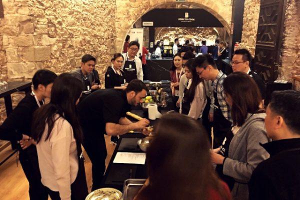 Amfivia barcelona in exclusive team building activity Barcelona (4)