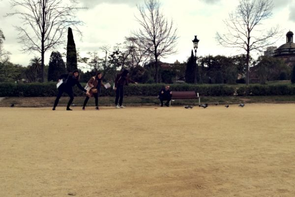 Amfivia gymkhana Barcelona express team building activity (2)