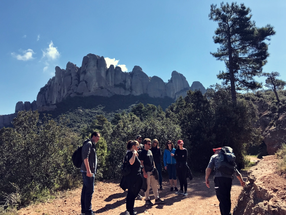 HIKING IN MONTSERRAT: ENJOY NATURE WITH YOUR TEAM