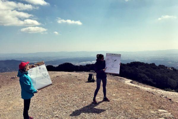 Amfivia orienteering challenge team building barcelona (2)