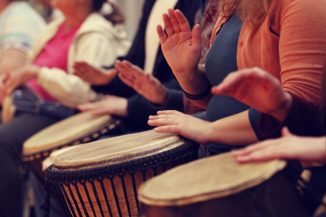 DRUM CIRCLE: THE RHYTHM THAT JOINS TEAMS