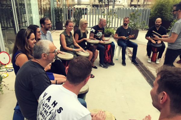 Drum Cercle_Amfivia_Team buildin_Barcelona (3)
