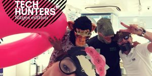 TECH HUNTERS IN SITGES: CREATIVE TEAM BUILDING!