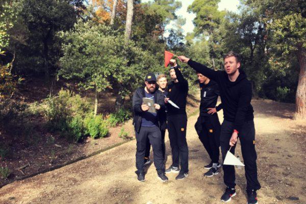 Orienteering Challenge Amfivia Teambuilding Barcelona (1)