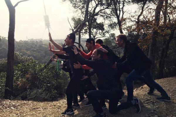 Orienteering Challenge Amfivia Teambuilding Barcelona (9)